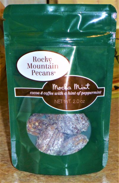 Mocha Mint Roasted Pecans