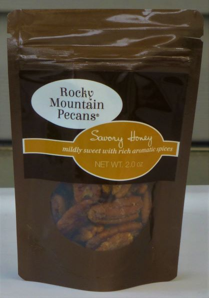 Savory Honey Roasted Pecans